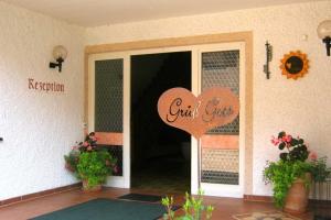Eingang zum Landhaus Cornelia