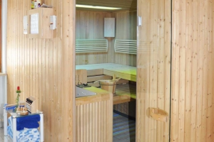 Sauna im Landhaus Cornelia