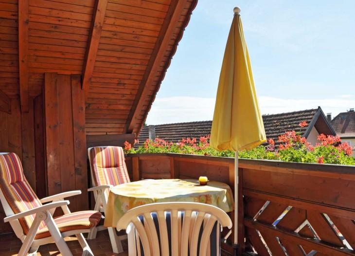 Suite **** mit Balkon im Landhaus Cornelia in Bad Birnbach.