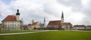 Kapellplatz im Wallfahrtsort Altötting