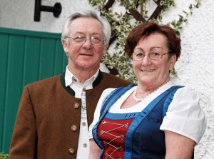 Ihre Gastgeber im Landhaus Cornelia in Bad Birnbach, Norbert und Maria Lang.