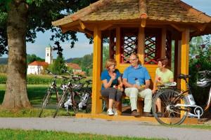 Mit dem E-bike bei einer Radtour Bad Birnbach erkunden.