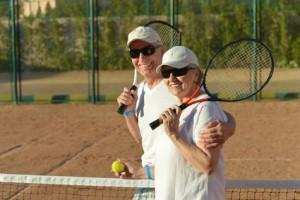 In Bad Birnbach gibt es auch Tennisplätze.