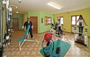Fitnessstudio im Landhaus Cornelia in Bad Birnbach.