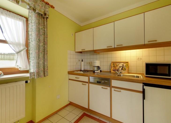 Küche in der Ferienwohnung im Kohlstattweg
