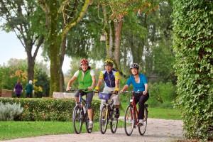 Rund um Bad Birnbach gibt es ein sehr großes und vielfältiges Fahrradwegenetz.