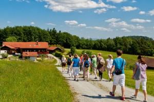 Rund um Bad Birnbach gibt es viele gut ausgebaute Wanderwege.